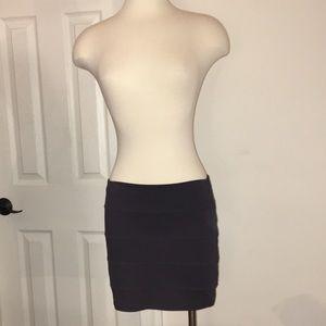 NWOT Bershka Gray Mini Skirt